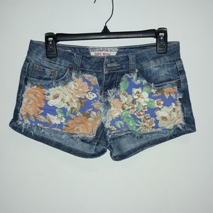 Hot Kiss Denim Shorts
